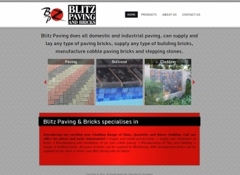 Blitz Paving Website