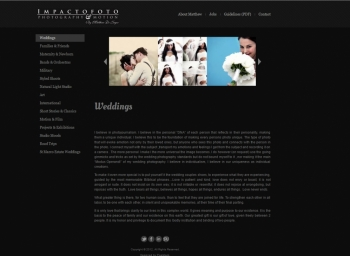 Impactofoto Website