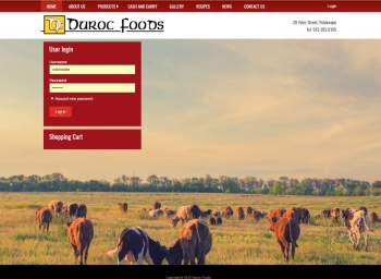 Duroc Foods Website